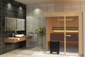 Tylo Sauna Evolve Glass Corner