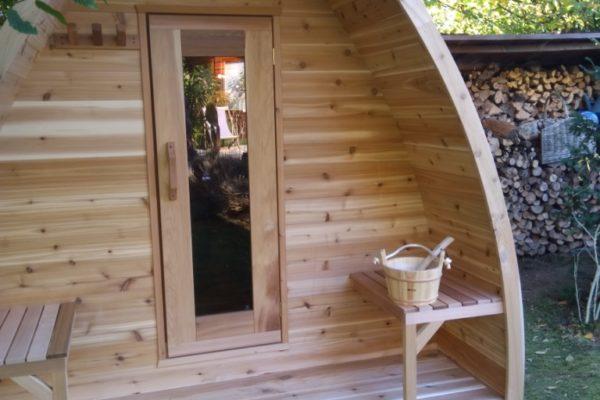 Sauna extérieur Belgique