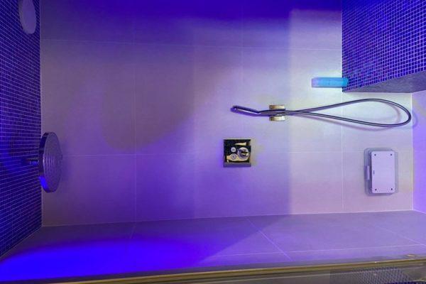 Installation douche hammam sur mesure Brabant Wallon Bienfait Wellness & spa