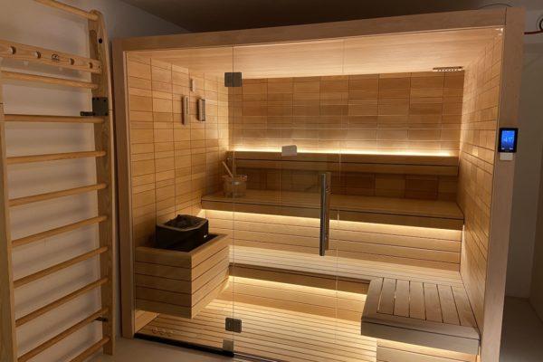 Vente et Installation Sauna Auroom Bienfait Wellness