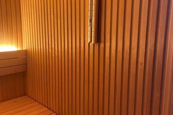 Vente et installation sauna Bruxelles Brabant Wallon Bienfait Wellness